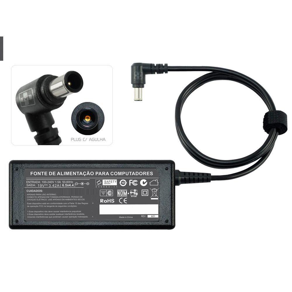Fonte Carregador Para Notebook LG 19v Plug  Agulha 644 - EASY HELP NOTE