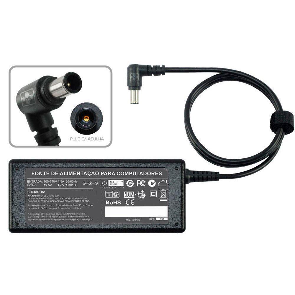 Fonte Carregador Para Notebook Sony Vaio Vgn-cr Series 19,5v 493 - EASY HELP NOTE