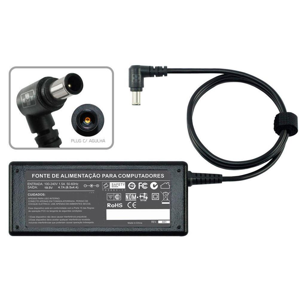 Fonte Carregador Para Notebook Sony Vaio Vgn-s4 Series 19,5v 493 - EASY HELP NOTE