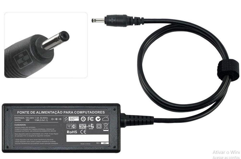 Fonte Para Tablet ACER Gateway Tab A60 12v 1,5a  679 - EASY HELP NOTE