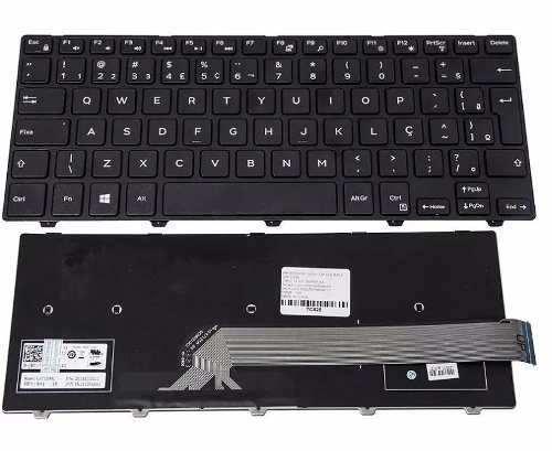 Teclado Para Dell Inspiron I14-3443-b40 Série 3441 V147125ar - EASY HELP NOTE