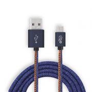 CABO MICRO USB JEANS I2GO I2GCBL940 1,5M