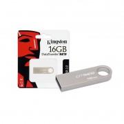 PEN DRIVE 16GB USB 2.0 DATATRAVELER KINGSTON DTSE9H/16GBZ PRATA