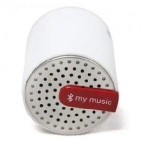 Mini Caixa de Som P MP3/ MP4/ CEL- Recarregavel C/ Bluetooth - Branca