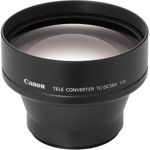 Lente tele-conversora para câmeras Canon TC-DC58A