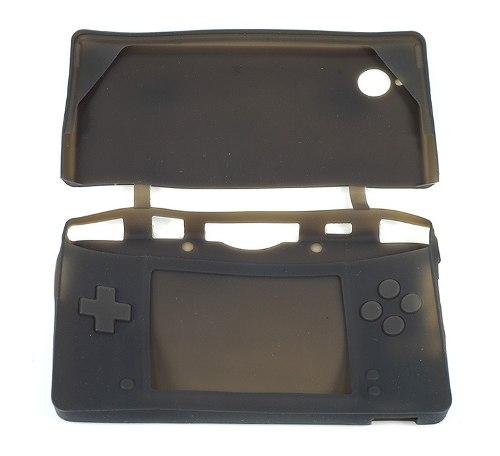 Capa De Silicone Para Nintendo Dsi | Preta | Skin