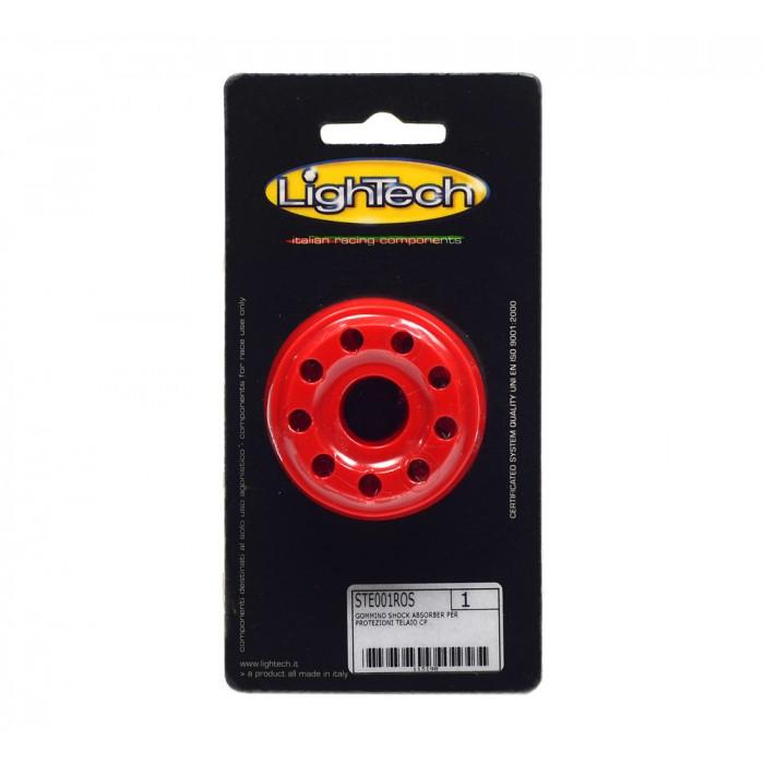 Amortecedor de Borracha Lightech p/ Slider Protetor de Quadro Mod: STE001ROS
