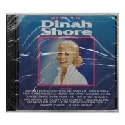 CD Dinah Shore - Best Of Dinah Shore - Importado - Lacrado