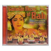 CD Gamelan Music Of Bali - Importado - Lacrado