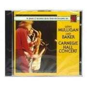 CD Gerry Mulligan / Chet Baker - Carnegie Hall Concert - Importado - Lacrado