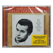 CD Glenn Gould - Bach: The Two And Three Part Inventions - Importado EU - Lacrado