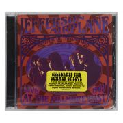 CD Jefferson Airplane - Sweeping Up The Spotlight: Live At The Fillmore East 1969 - Importado USA - Lacrado