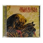 CD Jello Biagra & The Melvis - Never Breathe What You Can't See - Importado - Lacrado