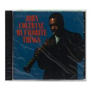 CD John Coltrane - My Favorite Things - Importado - Lacrado