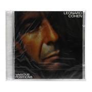 CD Leonard Cohen - Various Positions - Importado - Lacrado