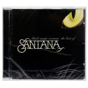 CD Santana - The best of Santana Black Magic Woman - Importado - Lacrado