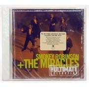 CD Smokey Robinson + The Miracles - The Ultimate Collection - Lacrado - Importado