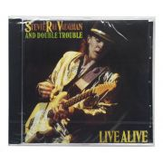 CD Stevie Ray Vaughan and Double Trouble - Live Alive - Importado - Lacrado