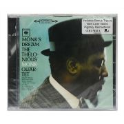 CD Thelonious Monk - Monks Dream - Importado - Lacrado