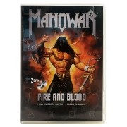 DVD Manowar - Fire And Blood - Hell on Earth Part II + Blood In Brazil - Importado