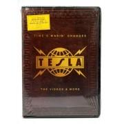 DVD Tesla - Time's Makin' Changes - The Videos & More - Importado - Lacrado