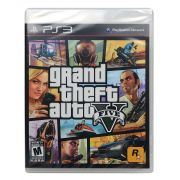 Jogo GTA 5 V PS3 - Grand Theft Auto V - Original