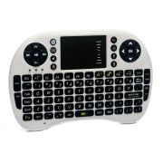 Mini Teclado Touchpad Wifi Usb Pc Tv Xbox Ps3 Branco UKB-500-RF Outbox