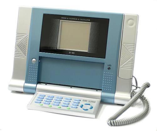 Lote Com 5 Telefones D-83 Telefone Calculadora E Calendário