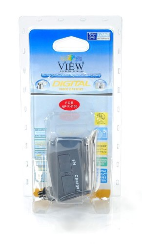 Bateria World View P/ Sony NP-FH100 - Xr520v Xr500v Xr200 Xr100 Ux7
