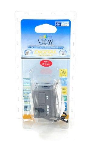 Bateria Np-fh70 P/ Filmadora Sony Handycam 7.4v 1400 Lacrado