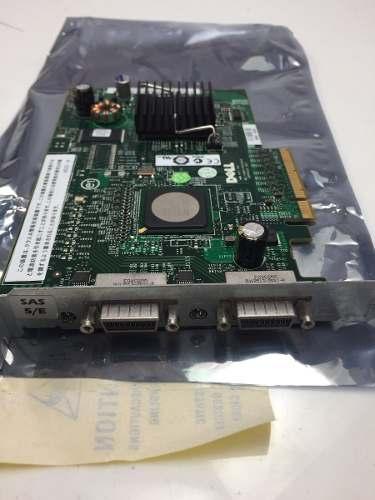 Placa Dell Perc 5i Sas/sata Pci-e 0gu186 0un939 E2k-ucs-51