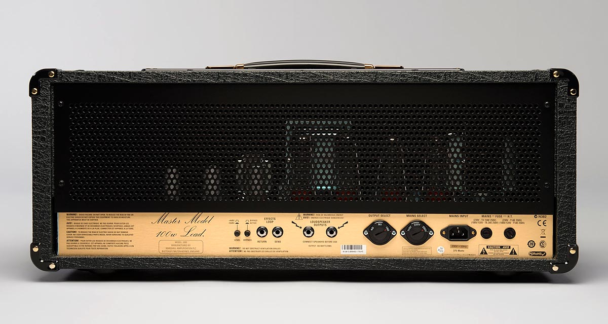Amplificador Marshall JCM800 2203 - Master Model 100w Lead - OUTBOX
