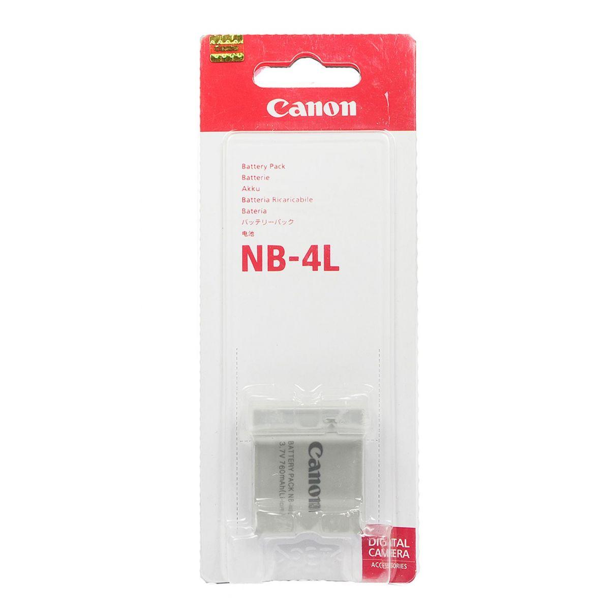 Bateria Canon NB-4L - Sd630 Sd750 Sd1000 Sd30 Sd40