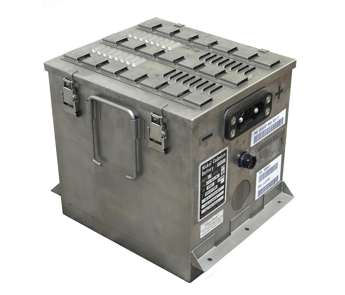 Bateria de Baixa Manutenção p/ Avião Boeing - Saft 539CH-1
