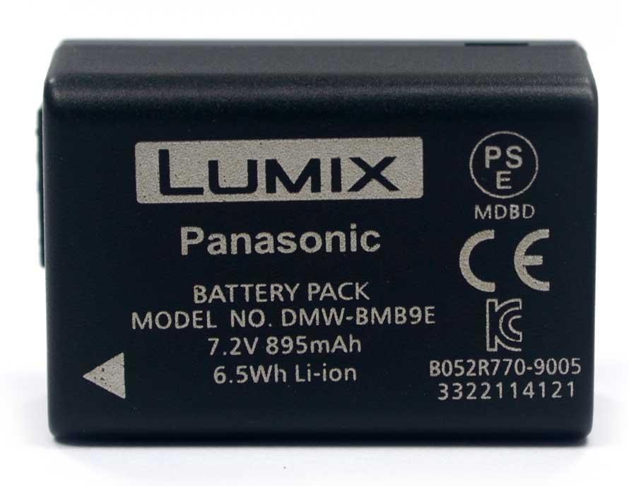 Bateria Panasonic Lumix DMW-BMB9E - DMC-FZ40 FZ45 FZ100 - Outbox