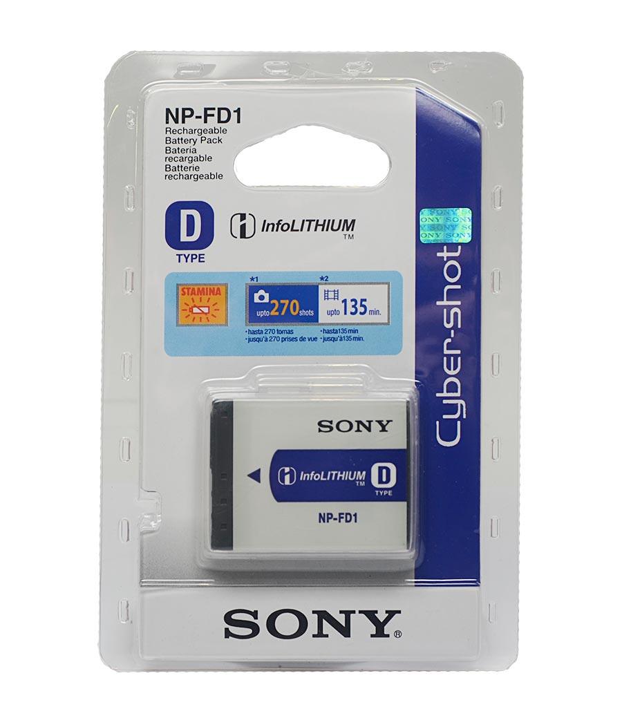 Bateria Sony NP-FD1 DSC-G1 DSC-T70