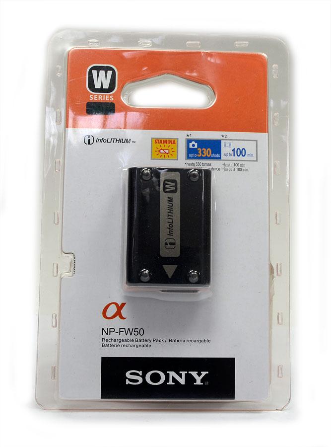Bateria Sony NP-FW50 - Nex-3 Nex-5 NEX-7 NEX-5N ALPHA A55