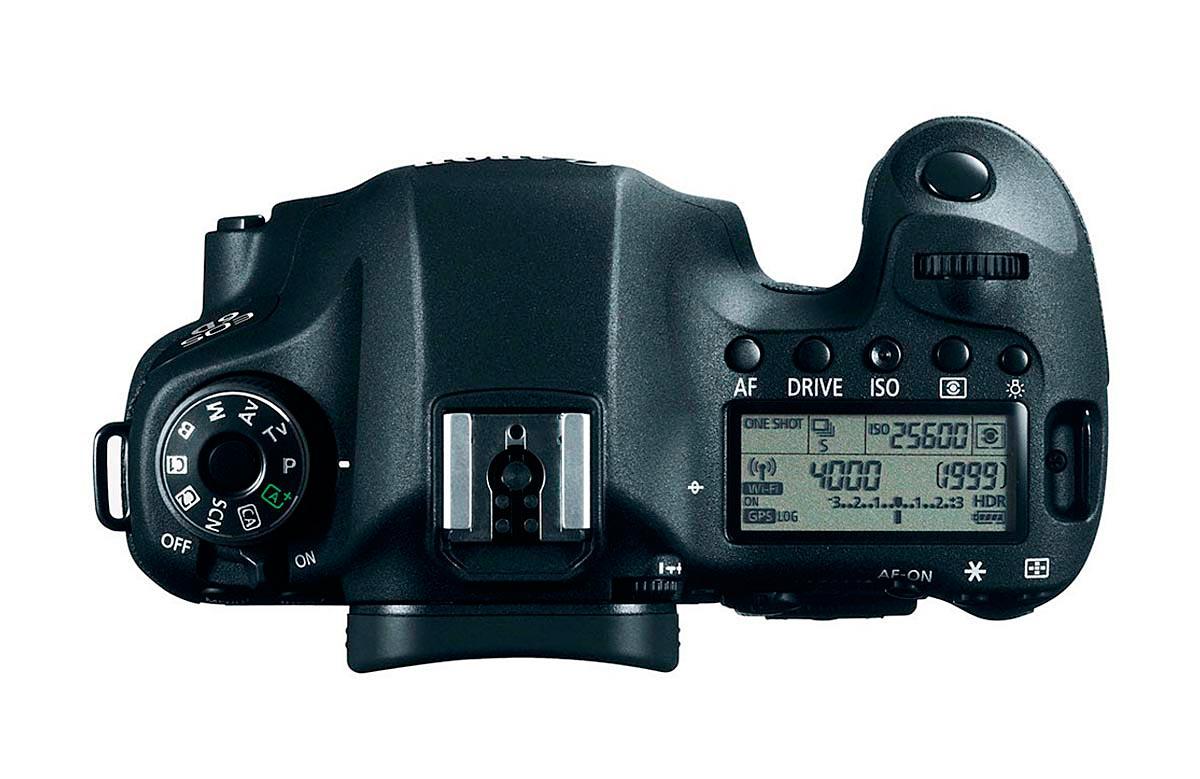 Câmera DSLR Full-Frame Canon EOS 6D 20.2MP Vídeos Full HD  WiFi - Somente Corpo
