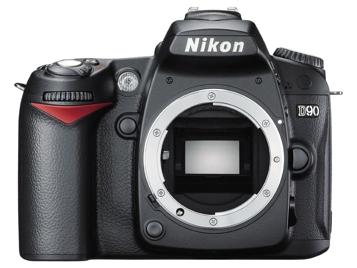 Câmera DSLR Nikon D90 - 12.3 Mp - Vídeos HD 720p (somente Corpo)