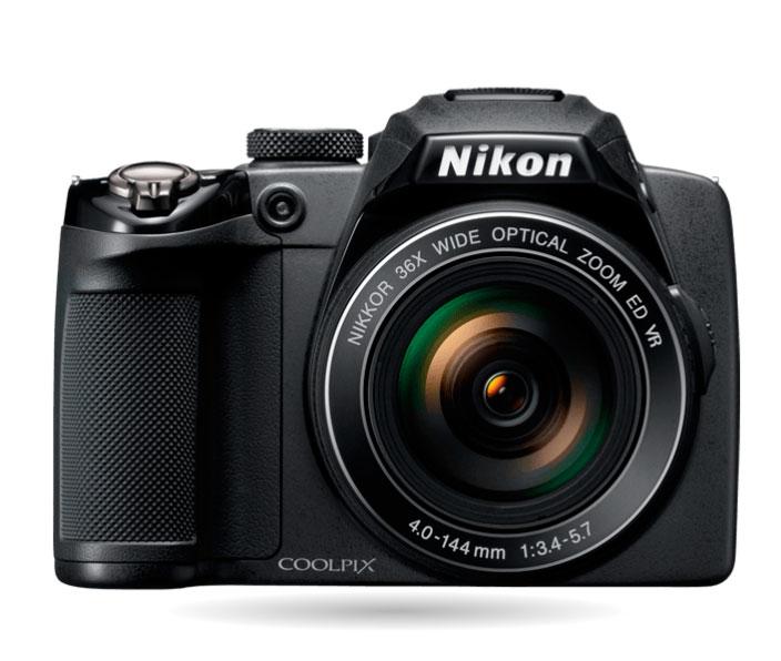 Câmera Nikon COOLPIX P500 12MP 36x Zoom 4GB - Nova - Na Caixa - NF