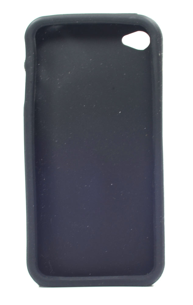 Kit 10 Capa protetora emborrachada para iPhone 4G várias cores