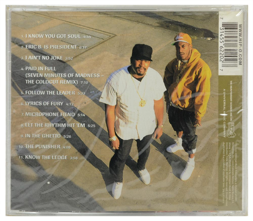 CD 20th Century Masters The Best Of Eric B. & Rakim - Importado - Lacrado