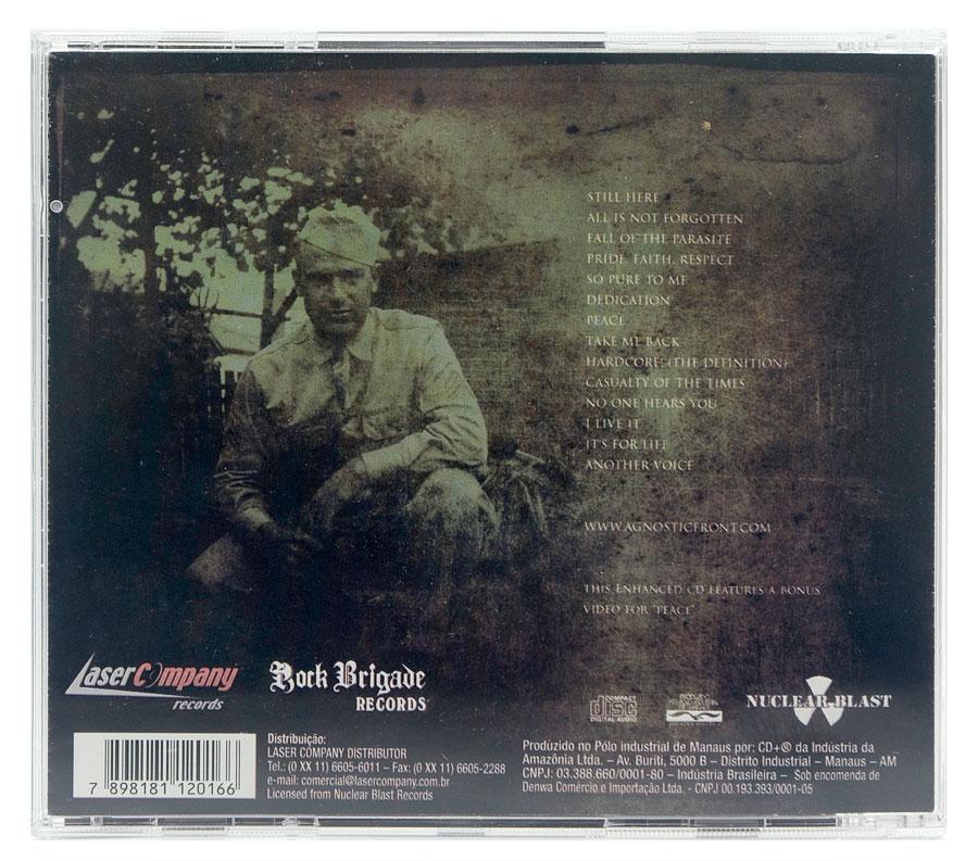 CD Agnostic Front - Another Voice - Lacrado