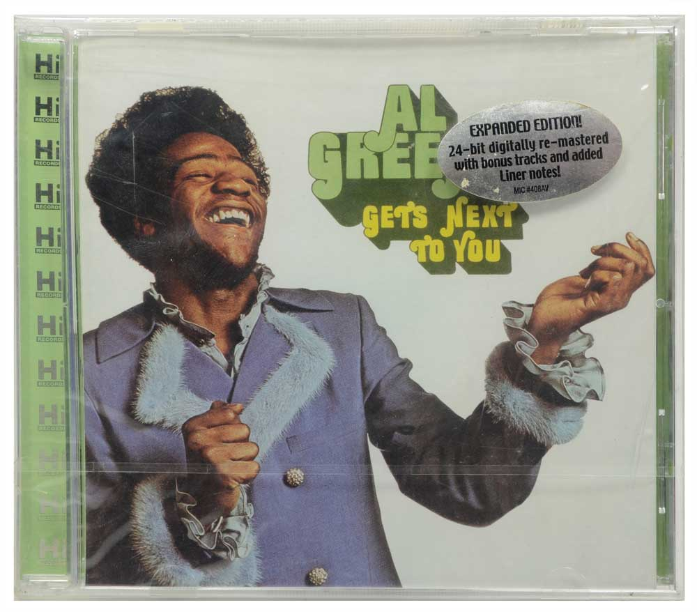 CD Al Green - Gets Next To You - Lacrado - Importado