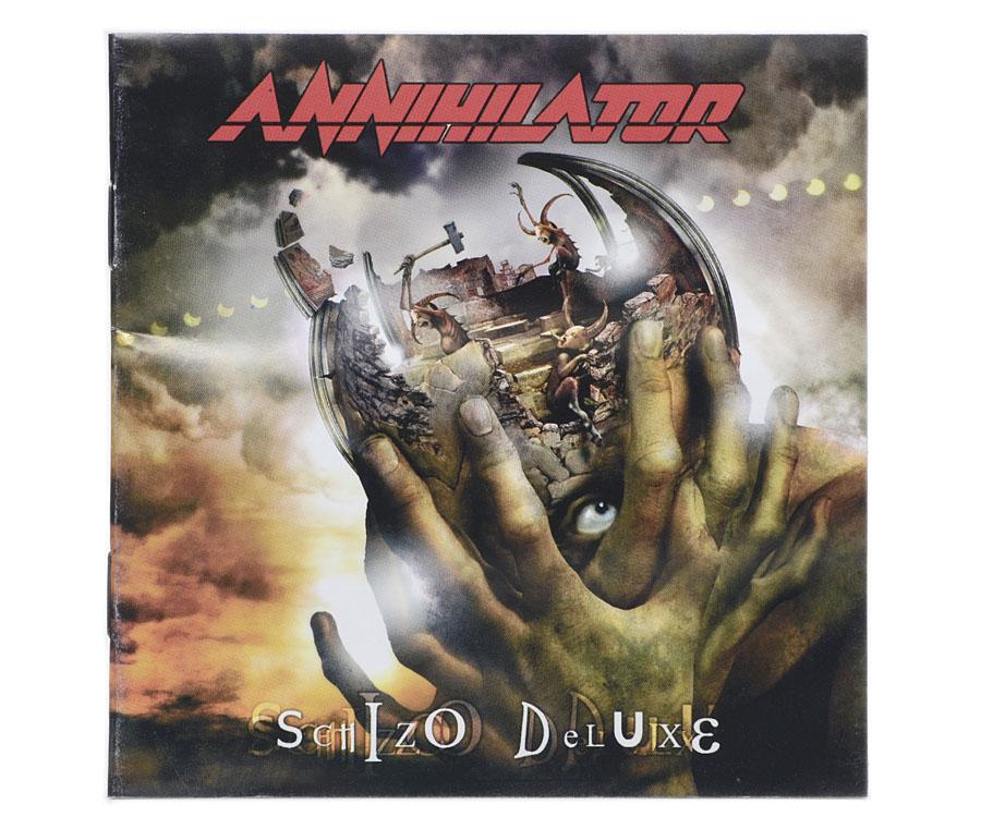CD Annihilator - Schizo Deluxe - Lacrado