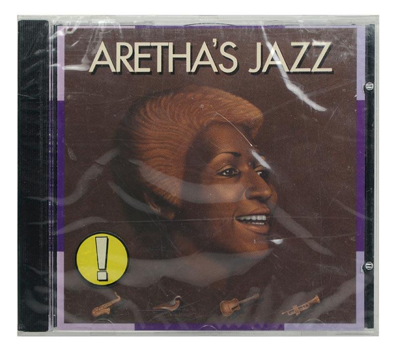 CD Aretha Franklin - Aretha´s Jazz - Importado Alemanha - Lacrado