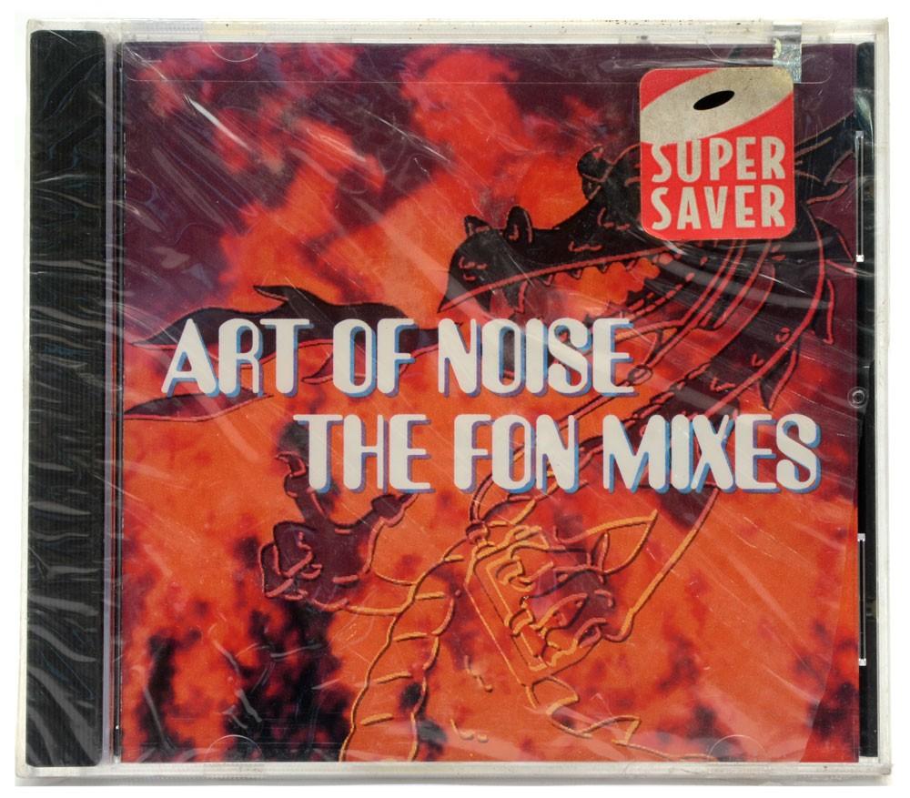 CD Art Of Noise - The Fon Mixes - Importado - Lacrado