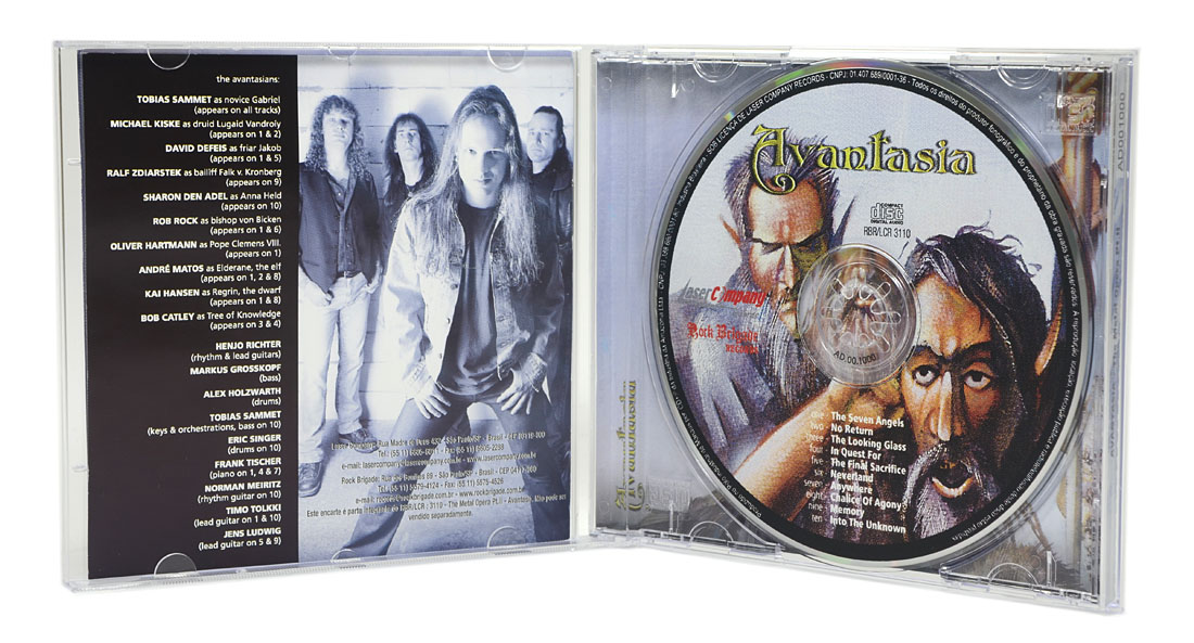 CD Avantasia - The Metal Opera PT.II - Lacrado