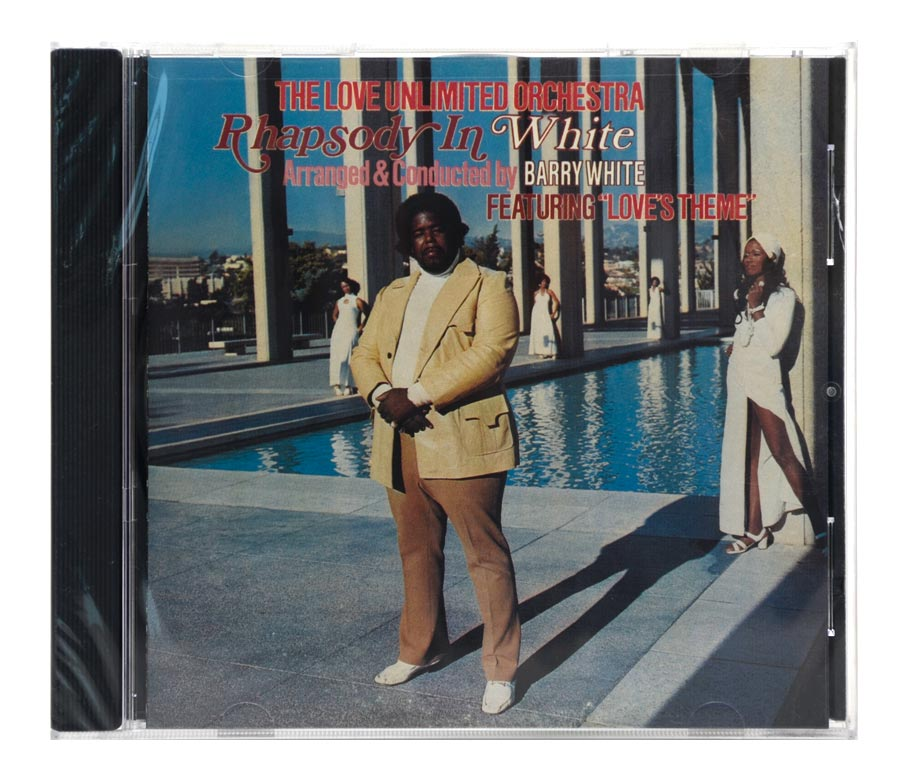 CD Barry White - Rhapsody In White - Importado - Lacrado