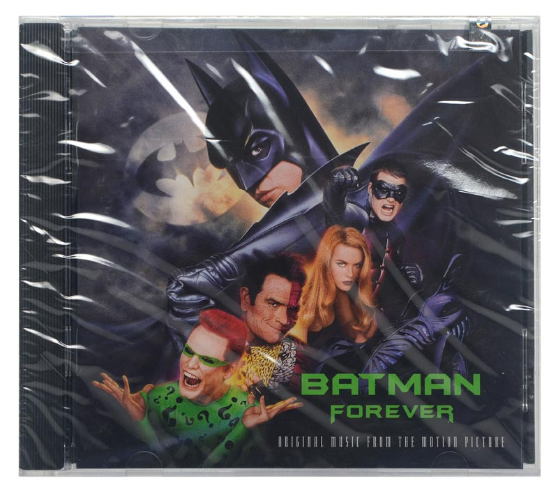 CD Batman Forever - Original Soundtrack - Importado USA - Lacrado